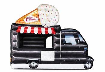 Opblaasbare foodtruck tent kopen in ice cream thema
