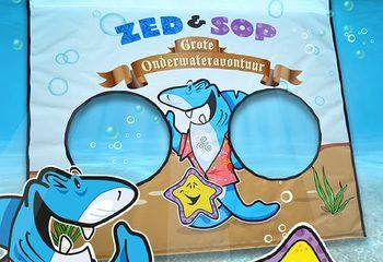 Op maat gemaakt duikzeil voor in het zwembad kopen voor kinderen