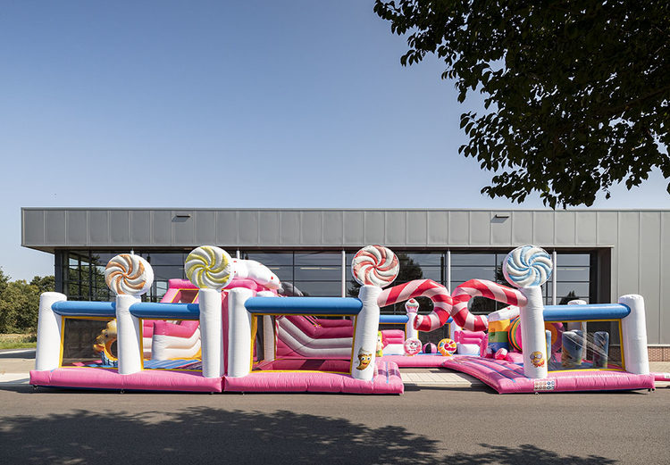 Bounce World Candyland vooraanzicht