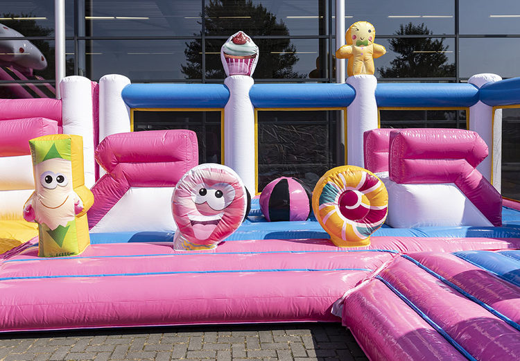 Bounce World Candyland binnenkant