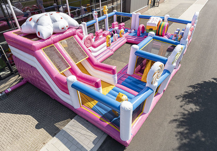 Bounce World Candyland bovenaanzicht links