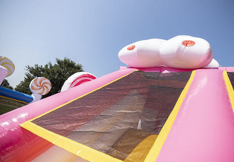 Bounce World Candyland detail netten