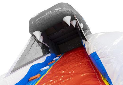 Acquistare uno scivolo gonfiabile con piccole dimensioni con il tema squalo per bambini