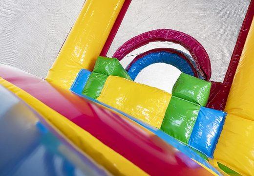 Acquistare un saltarello gonfiabile con scivolo fenicottero per bambini