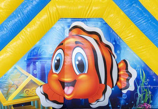 Acquistare un gioco gonfiabile con scivolo con vasca con il tema mondo mare