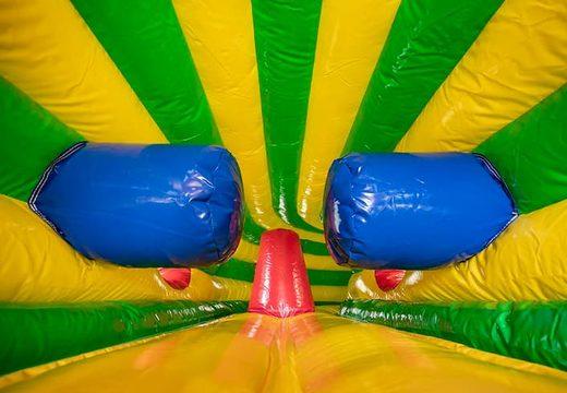 Play and fun leeuw kruiptunnel springkussen kopen voor kinderen. Bestel springkussens online bij JB Inflatables Nederland