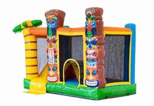 Multifunctioneel splash bounce Hawaï springkussen kopen bij JB Inflatables Nederland. Bestel springkussens online bij JB Inflatables Nederland