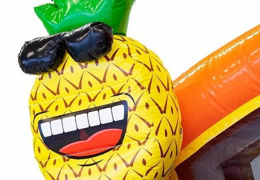 achat d'un chateau gonflable flamant rose ananas avec lunettes de soleil