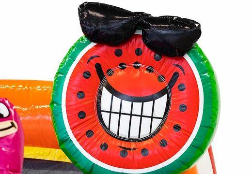 chateau gonflable avec piscine et pastèque gonflable à vendre