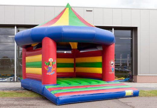 Carrousel super springkussen overdekt kopen voor kinderen. Bestel springkussens online bij JB Inflatables Nederland