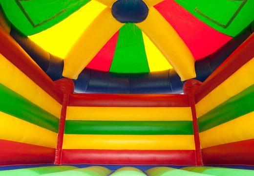 Groot luchtkussen overdekt kopen in carrousel thema voor kinderen. Koop luchtkussens online bij JB Inflatables Nederland