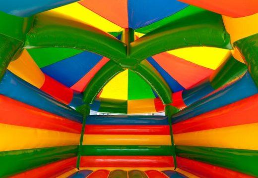Groot carrousel springkasteel overdekt kopen in standaard thema voor kinderen. Bestel springkastelen online bij JB Inflatables Nederland