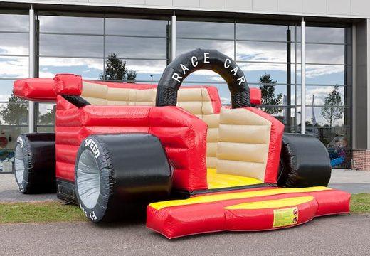 F1 auto super springkussen kopen voor kinderen. Koop springkussens online bij JB Inflatables Nederland