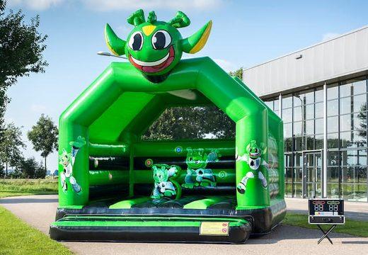 Interactieve super springkussen overdekt kopen met interactieve playsystems voor kinderen. Koop springkussens online bij JB Inflatables Nederland