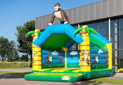 Super springkussen overdekt kopen in jungle thema voor kinderen. Koop springkussen online bij JB Inflatables Nederland