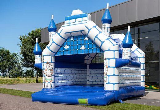 Super springkussen overdekt kopen in kasteel thema voor kinderen. Koop springkussen online bij JB Inflatables Nederland