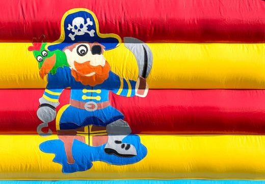 Groot overdekt springkussen kopen in thema piraten voor kinderen. Bestel springkussens online bij JB Inflatables Nederland