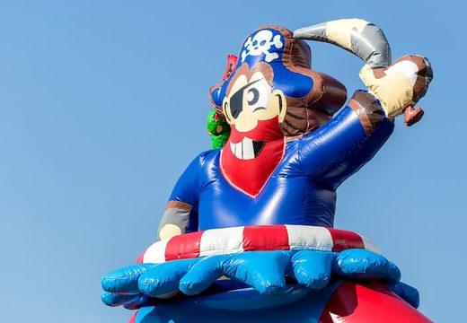 Groot luchtkussen overdekt kopen in piraat thema voor kinderen. Koop luchtkussens online bij JB Inflatables Nederland
