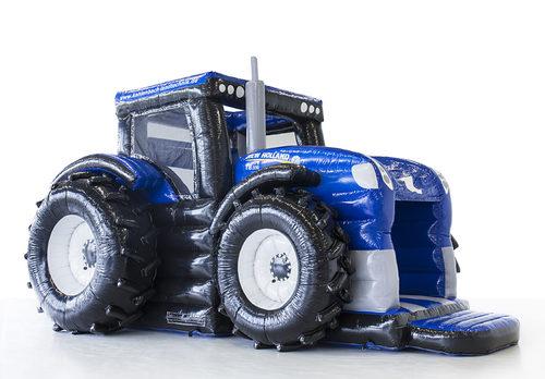 Gepersonaliseerde new holland tractor springkastelen laten maken bij JB Promotions Nederland. Promotionele springkastelen in alle soorten en maten razendsnel op maat gemaakt