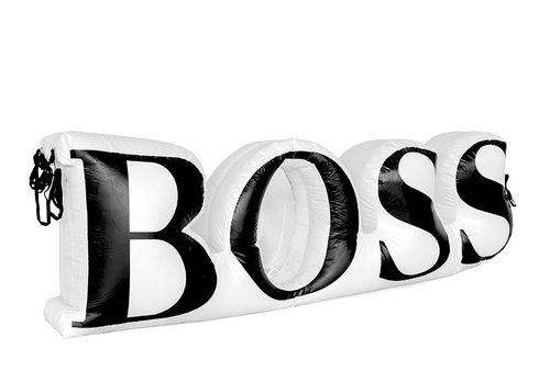 Hugo Boss logo vergroting opblaasbaar