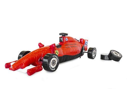 Race auto band wisselen op maat gemaakt