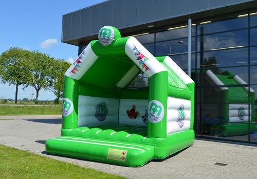 Op maat gemaakte opblaasbare CM - a frame springkussen bestellen bij JB Inflatables Nederland. Vraag nu gratis ontwerp aan voor opblaasbare luchtkussens in eigen huisstijl