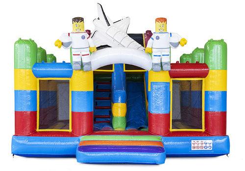 Op maat gemaakte Anja Slidebox Superblocks springkussen in eigen huisstijl bestellen bij JB Inflatables Nederland. Promotionele springkussens in alle soorten en maten razendsnel op maat gemaakt bij JB Promotions Nederland