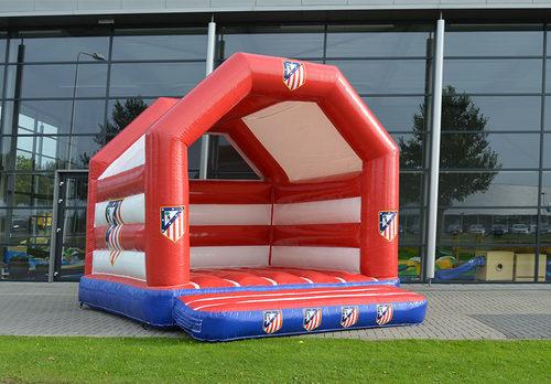 Koop gepersonaliseerde Atletico Madrid  A Frame springkussen bij JB Inflatables Nederland. Promotionele springkussens in alle soorten en maten razendsnel op maat gemaakt bij JB Promotions